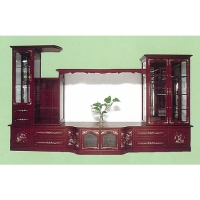 Mahogany Entertainment Center
