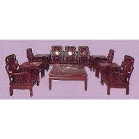 Mahogany Sofa Set