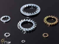 Serrate Lock Washer. DIN6798 Type J / A, JIS