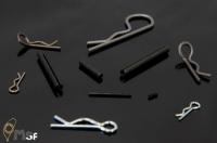 Snap Pin. R Pin, JIS B1351 / Spring Pin. DIN1481, JIS B 2808