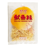Prepared Shredded Squid