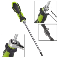 Screwdriver with hex shoulder - PH