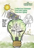ECO Lighting System (Hybrid Wind/Solar Powered)