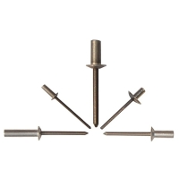 Closed End Aluminum Rivet With Aluminum Mandrel