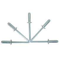 Aluminum Rivet With Steel Mandrel