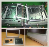 Plastic Mold Making – LCD Parts Mold