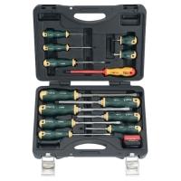 14pc Screwdriver & (De-)Magnetizer Set