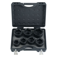 Cens.com 7pc 1 6pt. Impact Socket Set SHYANG YUN TOOLS CO., LTD.