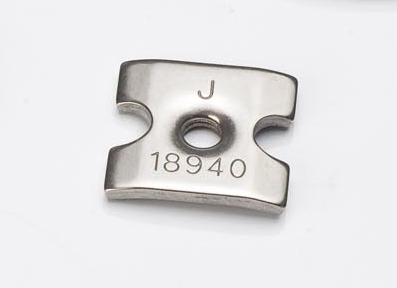 Precision-stamped part