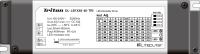 DL-LB1X48-40-TRI: 48V 40W 定電流DALI驅動器