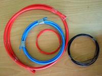 Teflon shrink film, tubing & wiring