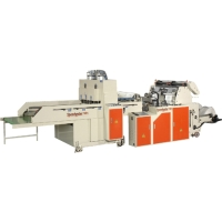 DESCRIPTION: FULLY AUTOMATIC (SERVO) T-SHIRT PRINTED BAG MAKING MACHINE (HIGH SPEED)