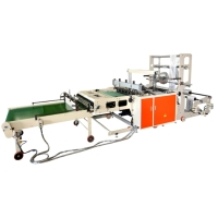 FULLY AUTOMATIC SIDE & BOTTOM SEALING BAG MAKING MACHINE, WITH SERVO DRIVEN SYSTEM
