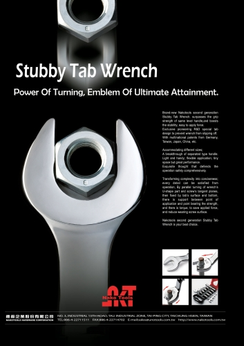 Stubby Tab Wrench