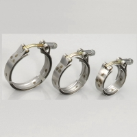 High-pressure hose clamps(band width:19 mm)