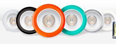 高演色燈管 玻璃  絲印+彩色燈頭