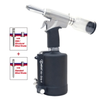 KARAT Air-Grip™ 4 Industrial Air Hydraulic Riveter 6.4 mm 1/4