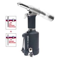 KARAT Air-Grip 2V Vacuum System Industrial Air Hydraulic Riveter 4.8 mm 3/16