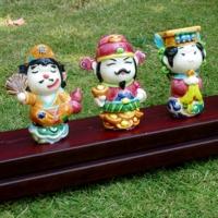 Pottery Figurine Of Divinities