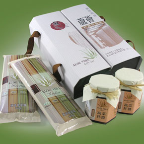 Aloe Noodles And Paste Set Gift
