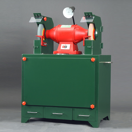 Dust Collection - Emery Wheel Grinding Machine with Automatic Dust Collection