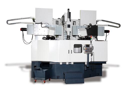 立式CNC旋彎成型機(鋁圈加工成型機)