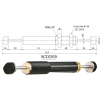 DOUBLE CUSHION SHOCK ABSORBERS