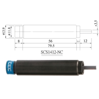 Shock absorber for stopper cylinders.