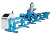 CNC Round/Rectangle Pipe Cutting Machine