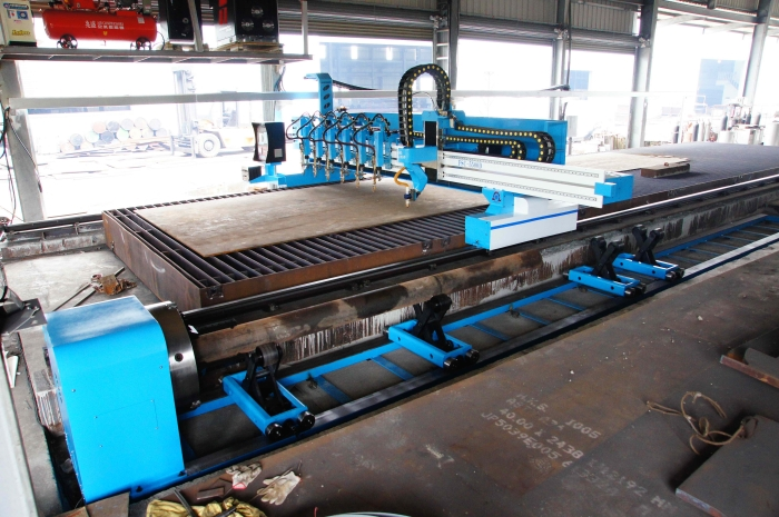 CNC Plate & Pipe Cutting Machine & Auto Beveling Head