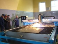CNC Flame & Plasma Cutting Machine