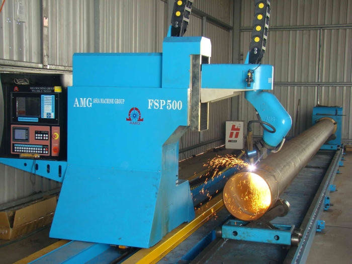 CNC Bevel Pipe Cutting Machine