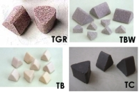 Equilateral-triangular Grinding Stones