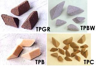Triangular Grinding Stones