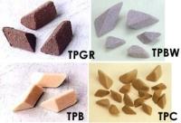 斜三角研磨石