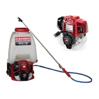 Honda Powered Power Sprayer