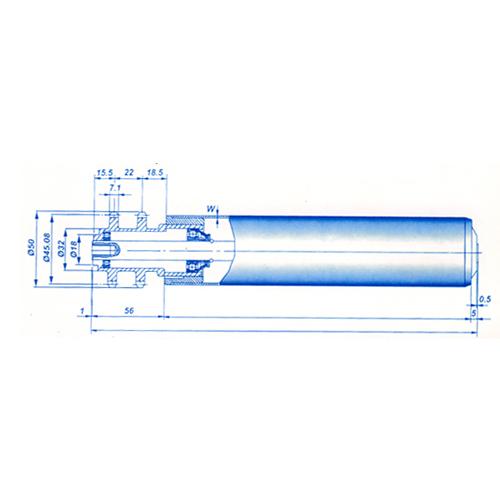 強制輸送滾筒及堆積式輸送滾筒
