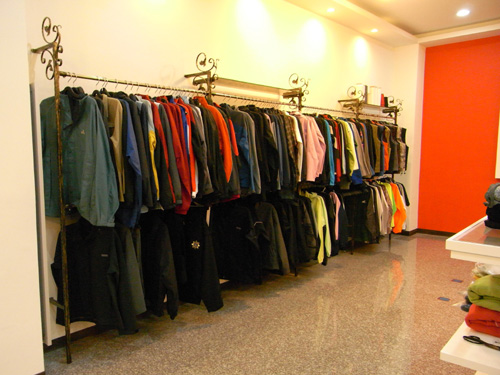 Mainly clothes