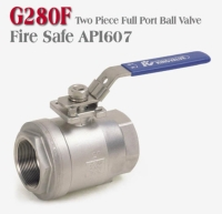 SS ball valve with API607 certificated