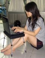 筆電摺疊桌及專用包