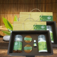 Tangerine Essence Oil-Added Skincare Gift Box