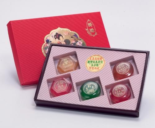 SPA精油皂五入礼盒