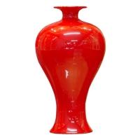 Cens.com 红釉系列 上海草曷轩艺术陶瓷有限公司