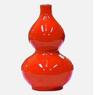 Cens.com Mini China Red Porcelain SHANGHAI CAO HE XUAN ART CERAMICS LTD. LNC.
