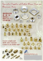 Lathed Brass, Iron and Aluminum Items