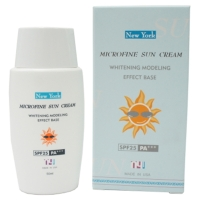 New York MICROFINE SUN CREAM