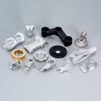 Forged, die-cast, extruded and powder-metallurgical parts