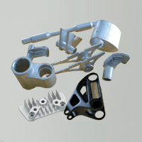 Aluminum forging and extrusion parts
