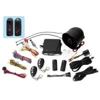 Car alarm with External Ultrasonic sensor (3 relays on Main unit PCB)