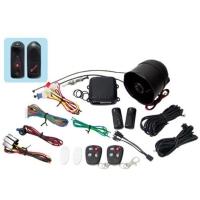 Car alarm with External Ultrasonic sensor (1 relay on Main unit PCB)